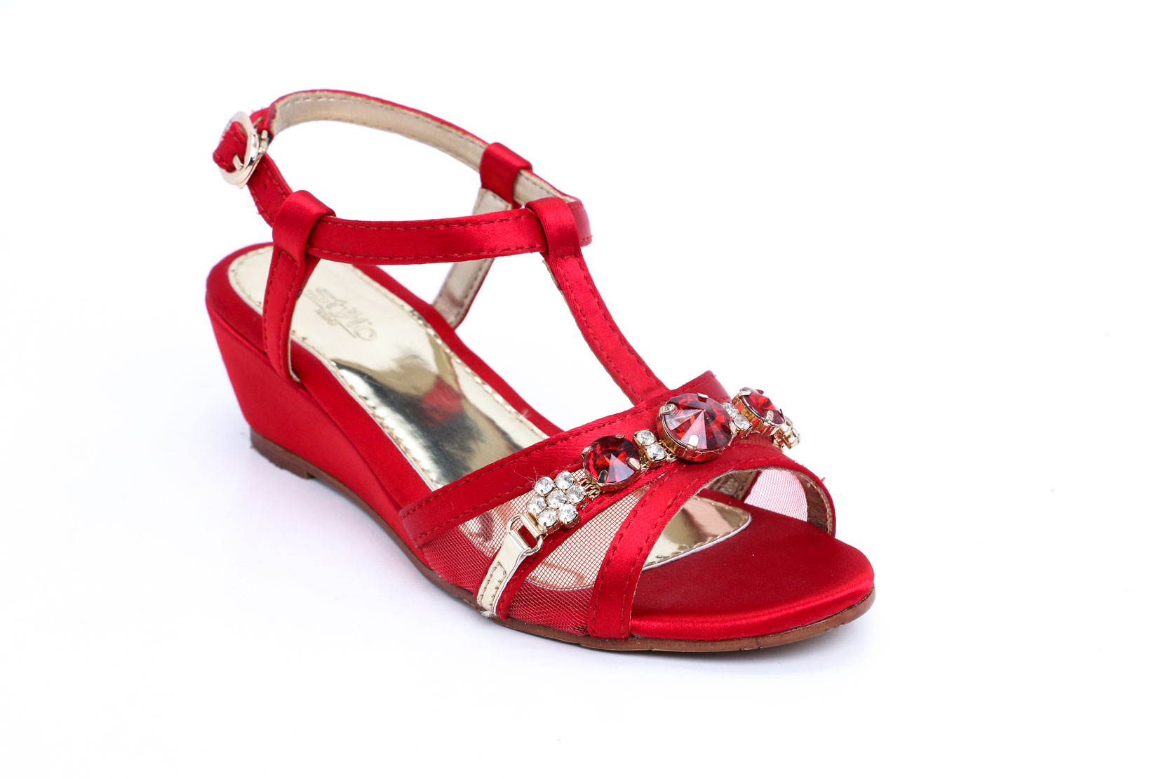 RED FORMAL SANDAL STYLO
