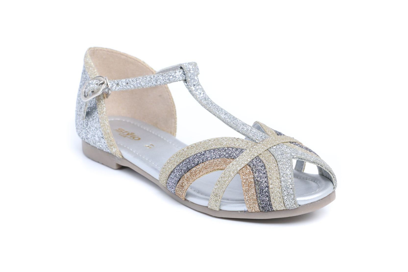 SILVER COLOR FORMAL SANDAL STYLO