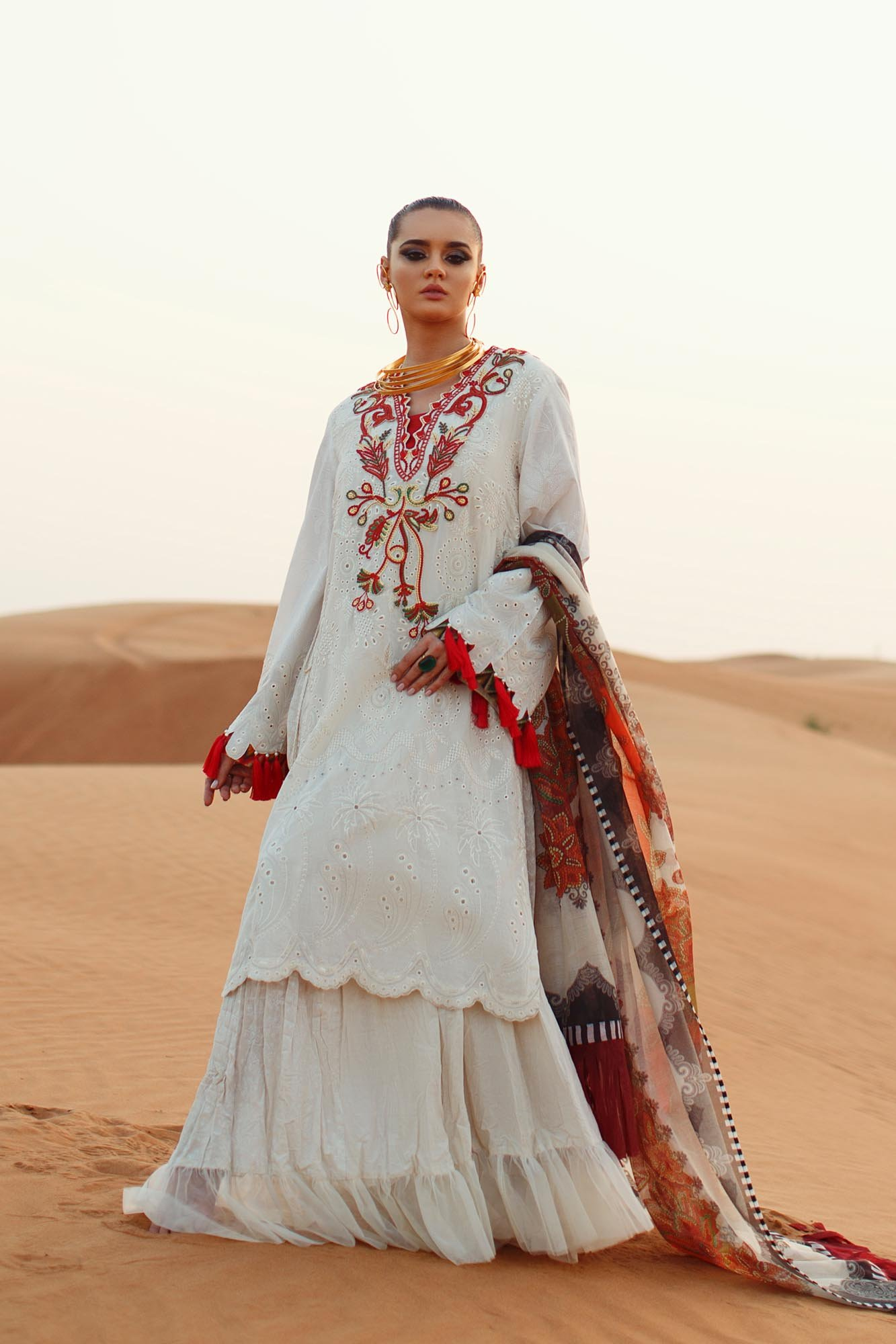 Ethnic By Outfiters 3pc lawn suit