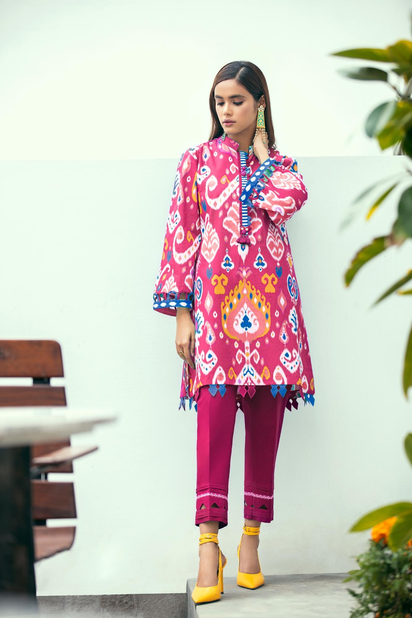 Ethnic By Outfitters Printed Lawn 2pc
