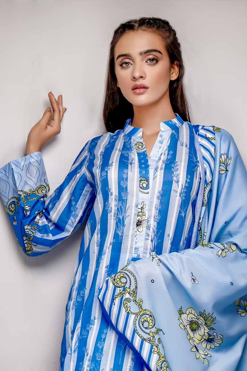 GL Printed Lawn suit