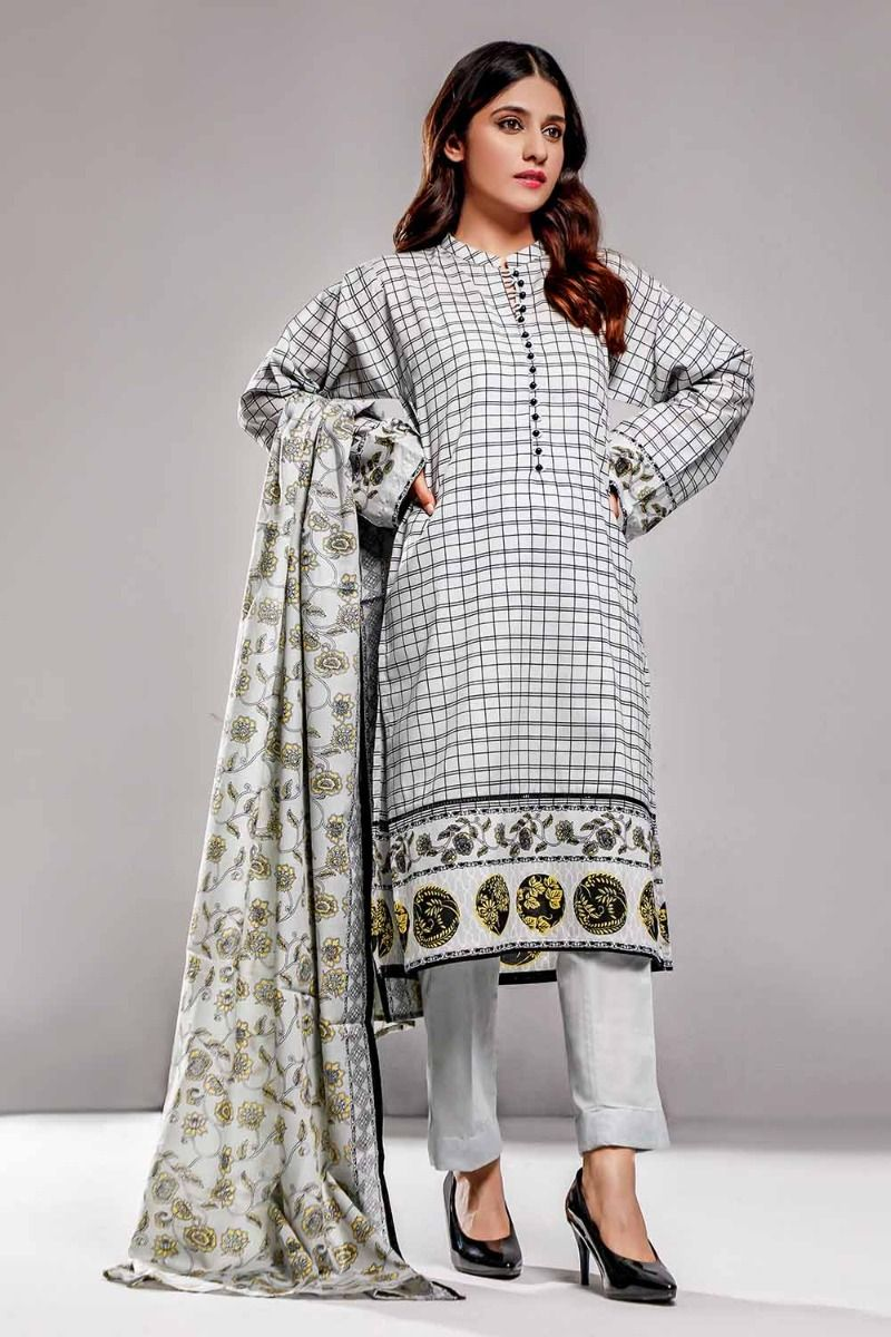 Gul Ahmad Lawn suit 3pc