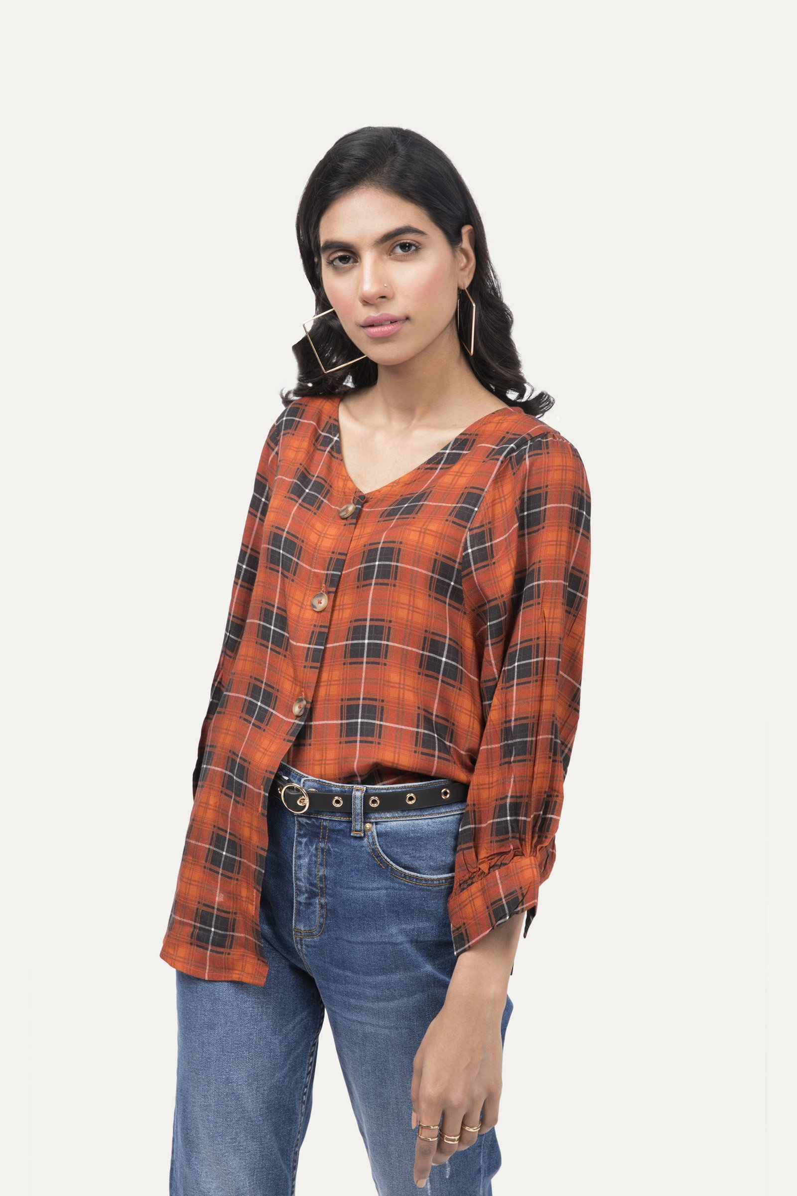 Outfitter Plaid pattern Shirt