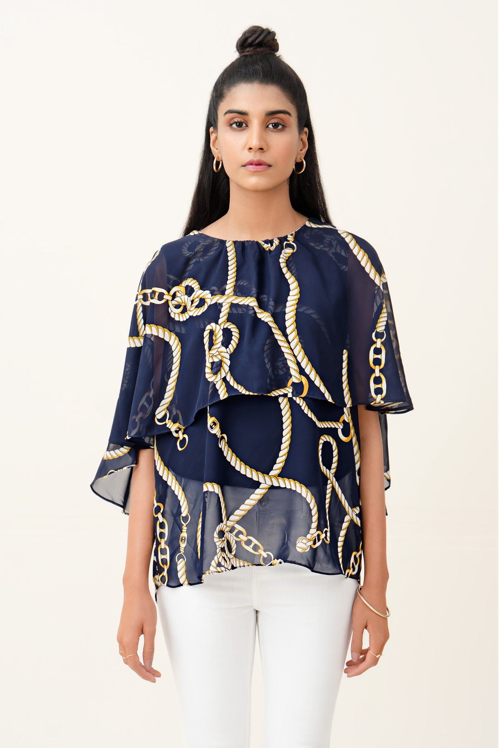 Outfitters Chain Printed Top