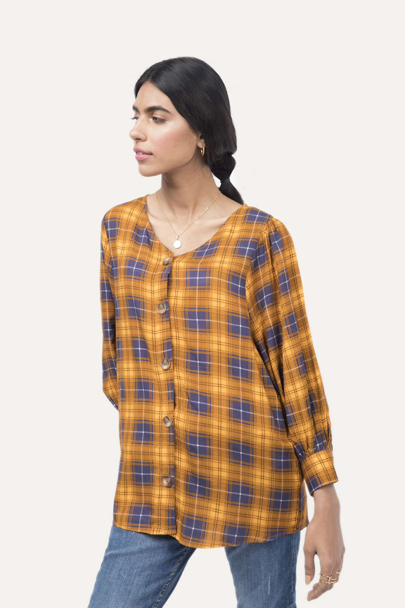 Outfitters Plaid pattern Shirt