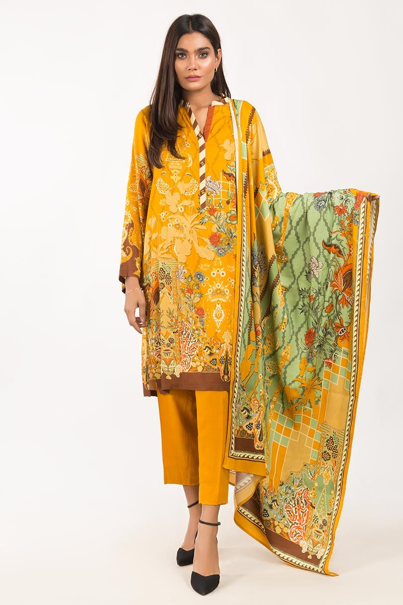 Viscose 3 PC Outfit Gul Ahmad