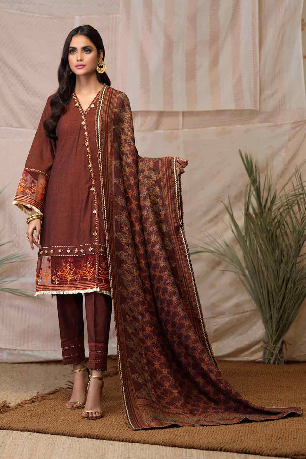3Pc Jacquard Suit By Bonanza