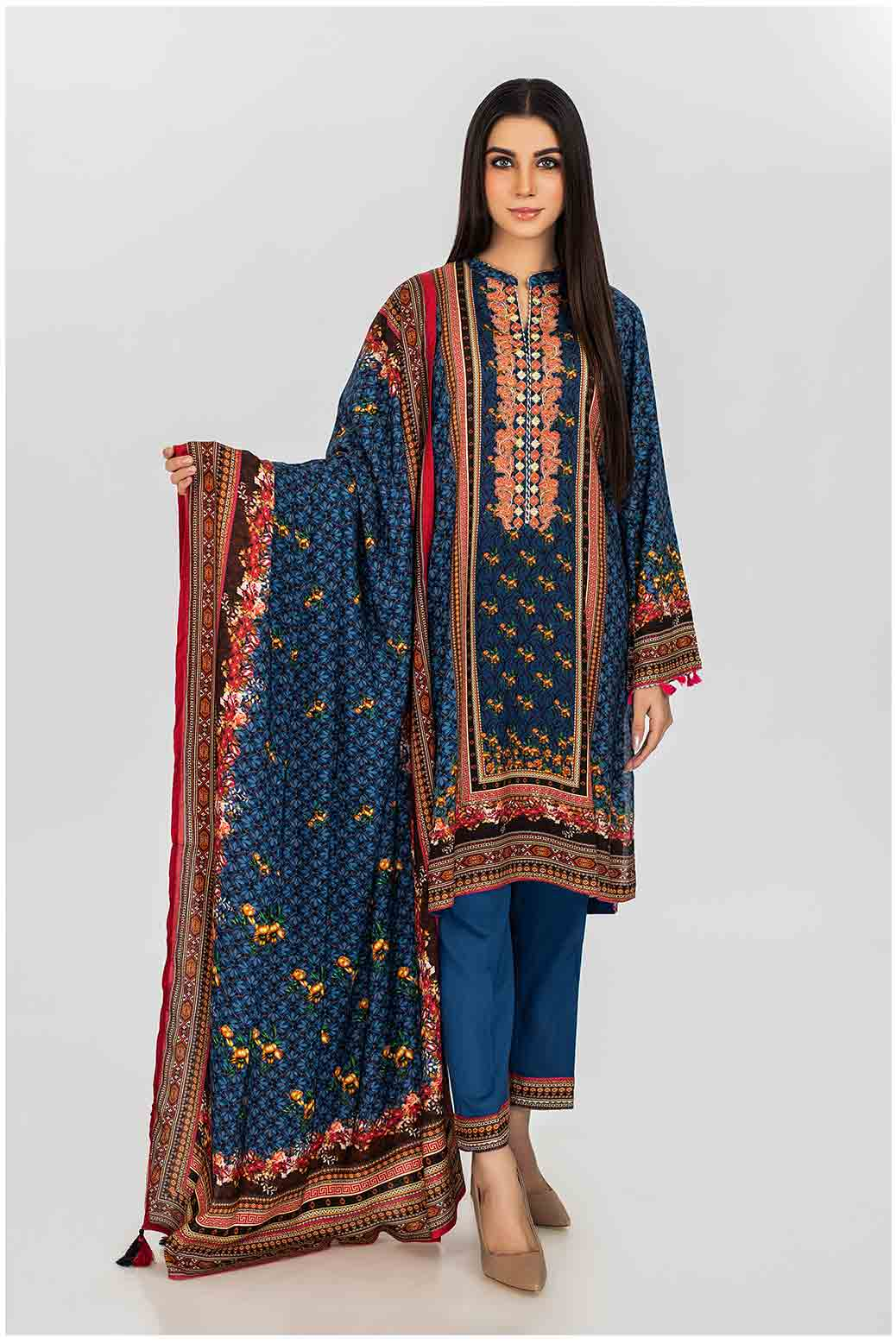 Bonanza Satrangi Digital Printed Viscose Suit