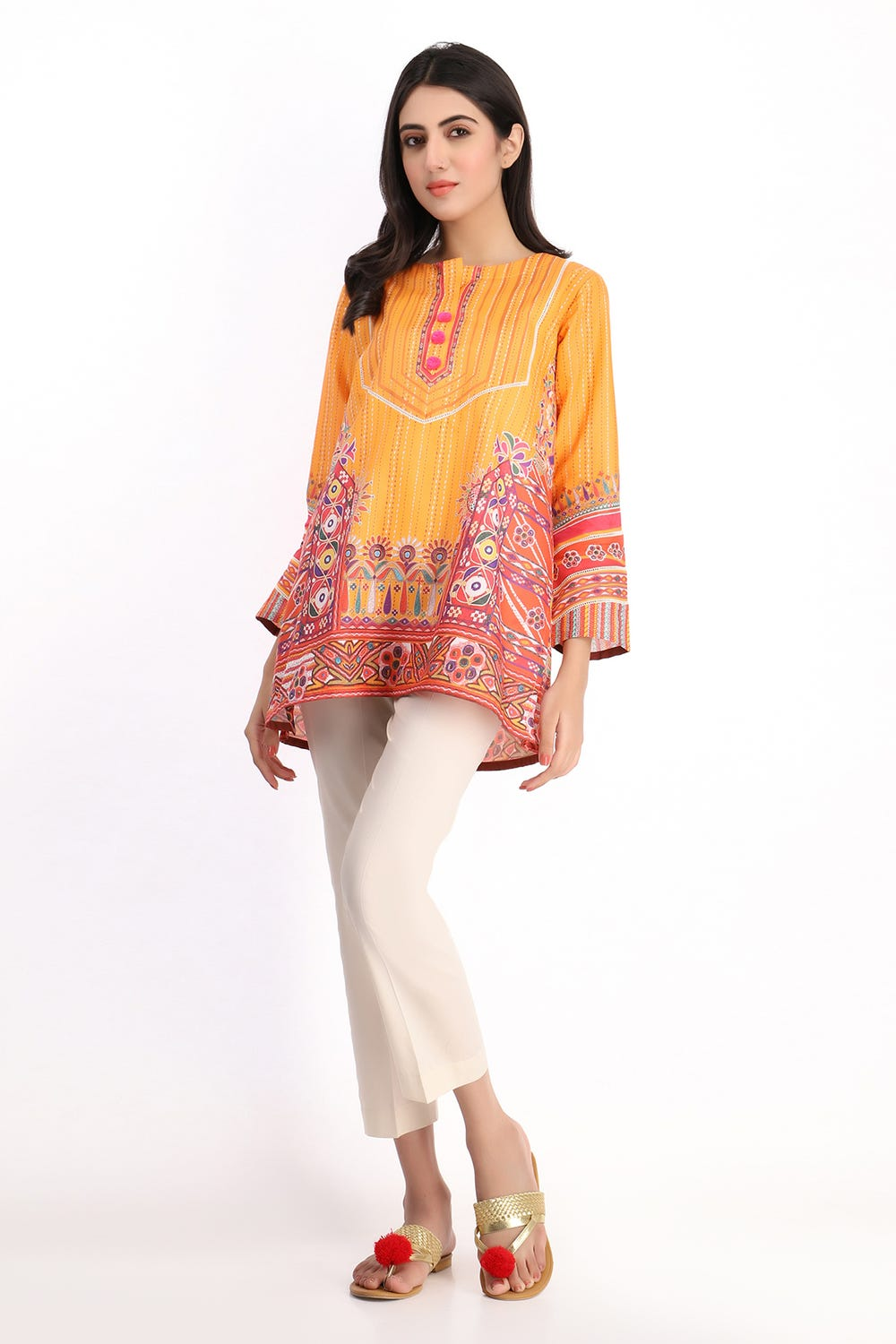 Khaddi Printed Kurta For Eid