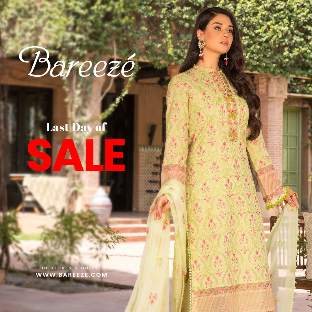 Bareeze Sale New Arrival for Girls