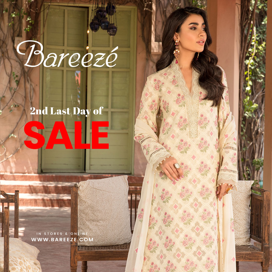 Bareeze Sale New Arrival for Ladies