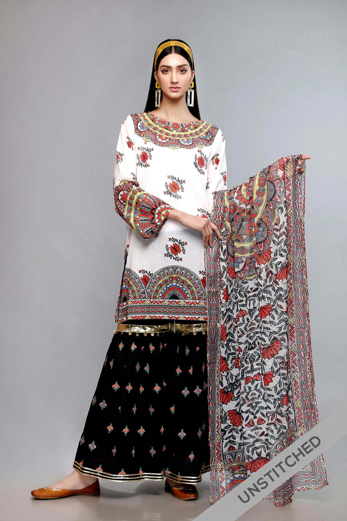 Best Unstitched Rang Ja Sale On Lawn For Women