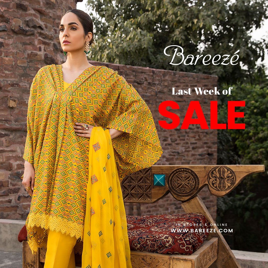 Latest Bareeze Sale New Arrival for Girls