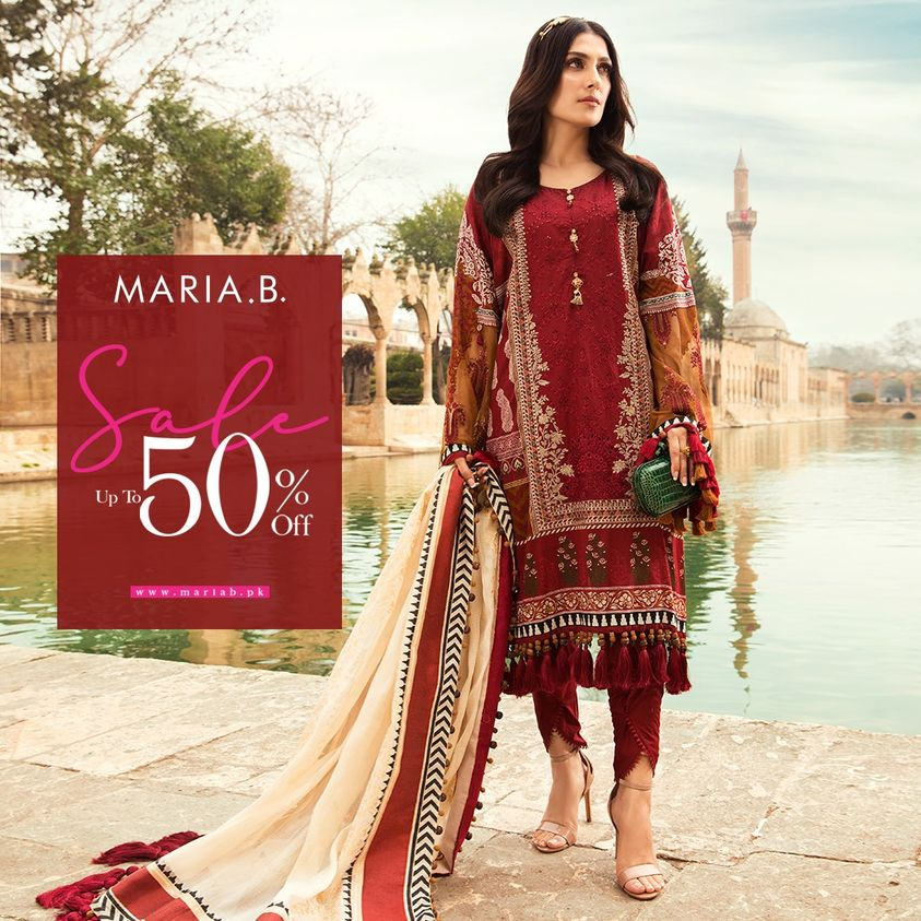 Maria B New Arrival With Sale For Ladies