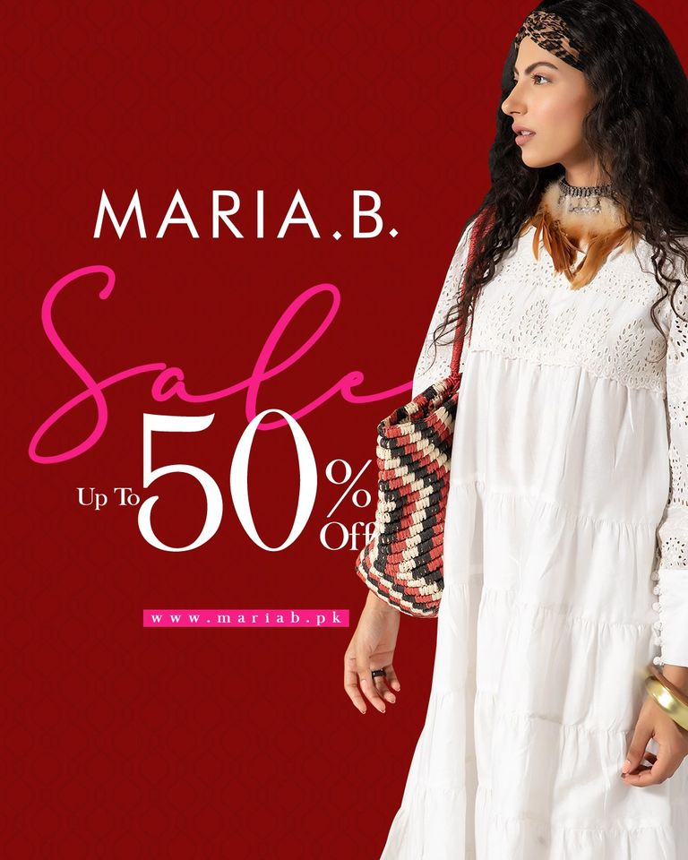 Maria B New Arrival With Sale