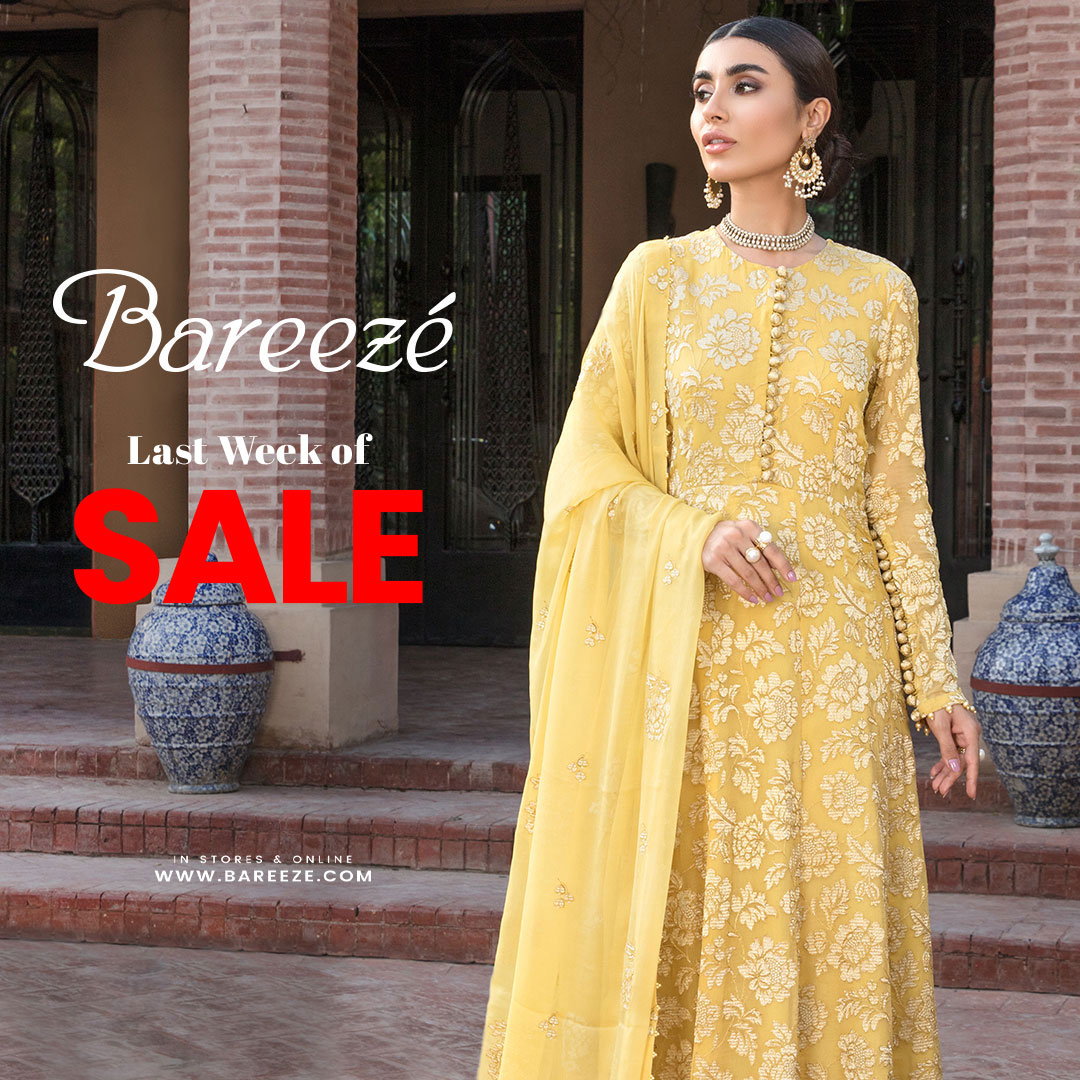 New Bareeze Sale New Arrival for Girls