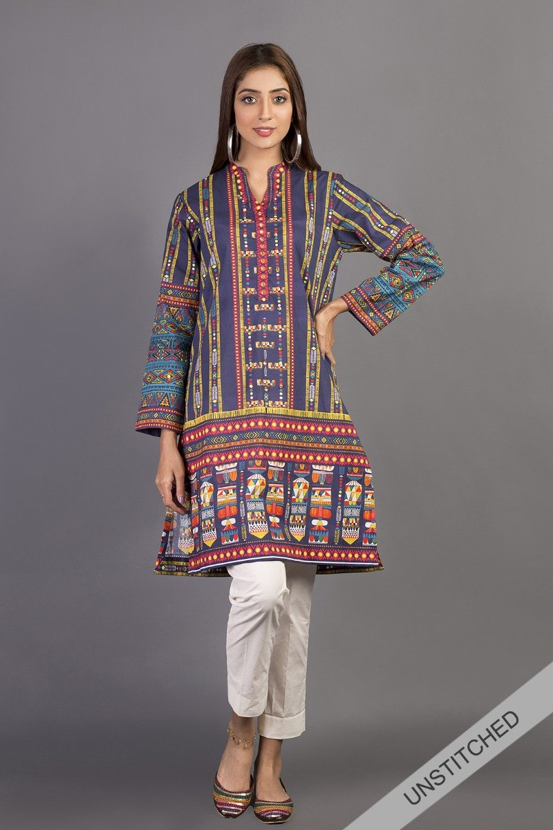 New Lawn Collection For Girls