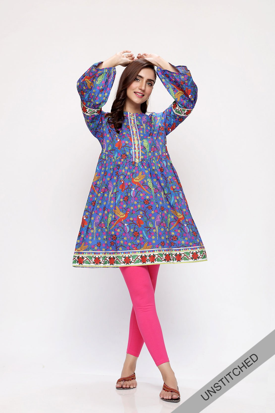 New Unstitched Rang Ja Sale On Lawn