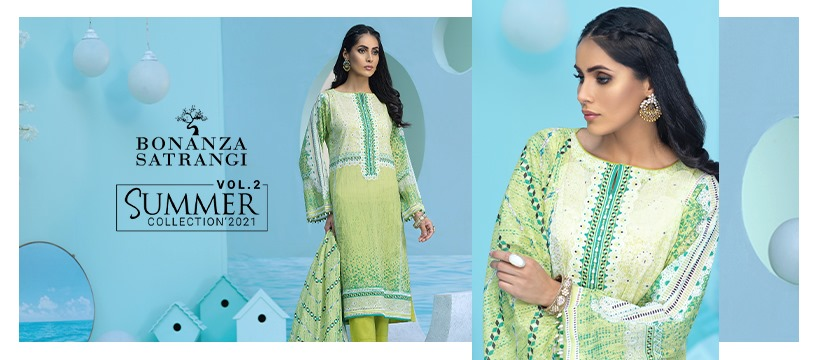 Summer Lawn collection For Girls