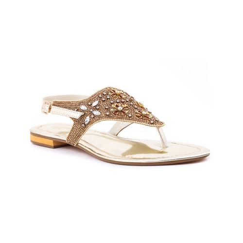golden shoes in stylo